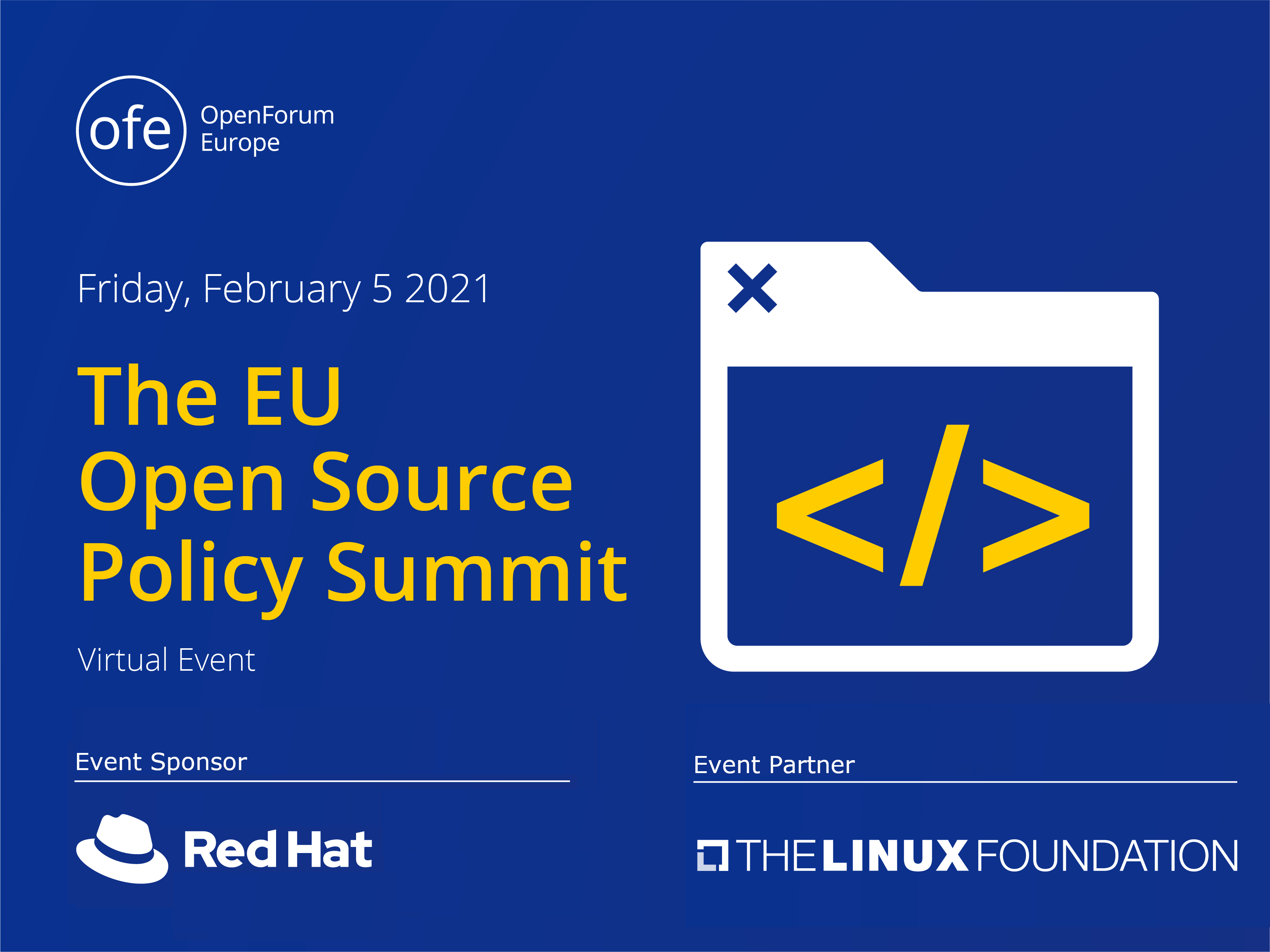 The EU Open Source Policy Summit 2021